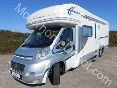 Auto Trail Frontier Chieftain  Fixed rear bed, Rear garage, Swivel seatsSolar panel, Satellite system