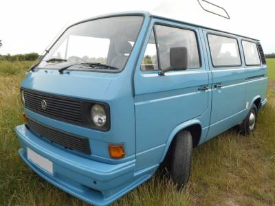 VW T25 - High top, Assisted steering, Diesel night heater, Reconditioned engine, Re-trimmed interior