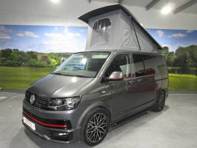 VW T6 Pop Top Luxury BBH Designs Grey Trendline Campervan