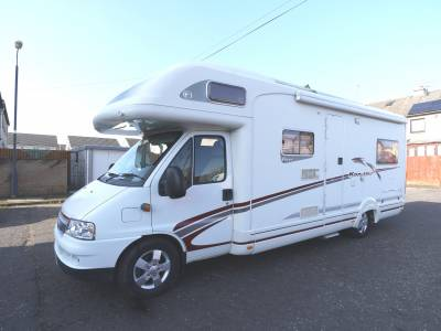Swift Kon-tiki 645, 6-Berth, 4-Seat Belts, Rear Lounge, Motorhome for Sale