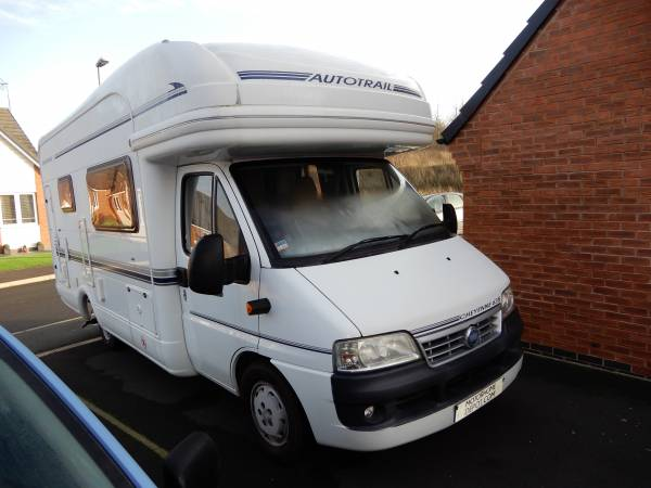 Autotrail Cheyenne 635 2 Berth End Washroom Motorhome For Sale