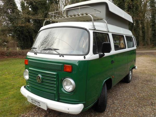 Volkswagen T2    2 Berth, Centre dinette, Heating, Fridge, Alarm
