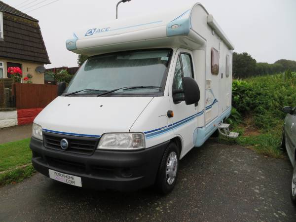 Ace Novella Modena 2004 2 berth fixed rear bed