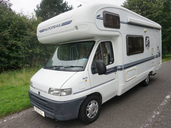 Autotrail Cheyenne 630 4 berth End kitchen, centre dinette motorhome for sale
