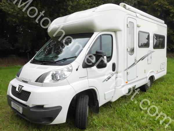 Autocruise Starspirit   Rear lounge, Centre kitchen,