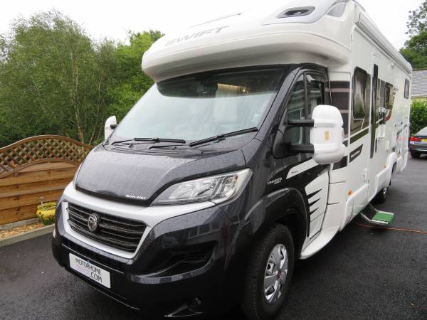Swift Kontiki 635 Black edition 2016 4 Berth 4 Travelling seats