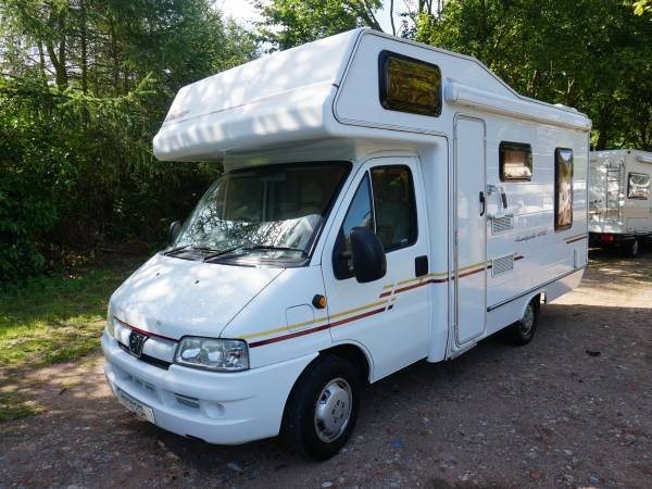 Compass Avantgarde 400rl 4 berth Rear lounge, over cab bed motorhome for sale