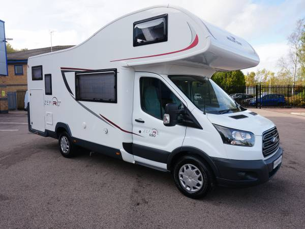Rollerteam Zefiro 690G 6 berth Rear garage, Rear fixed bed motorhome for sale