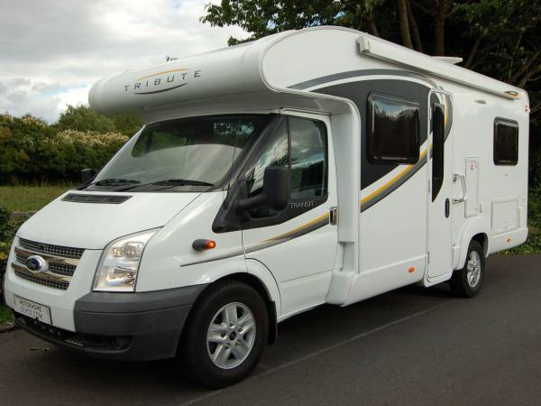 Autotrail Tribute T715 low profile fixed bed motorhome