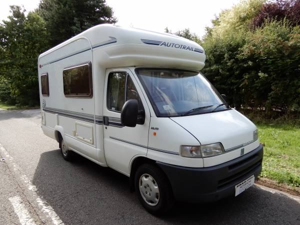 Autotrail Tracker EK 2002 4 Berth End Kitchen Motorhome For Sale