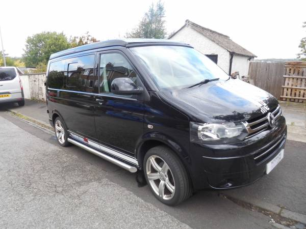 VW T5 Transporter Conversion