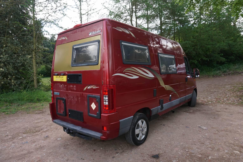 IH Oregon 2 berth 4 seatbelt End Kitchen Campervan Motorhome for sale